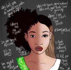 black girls colorism