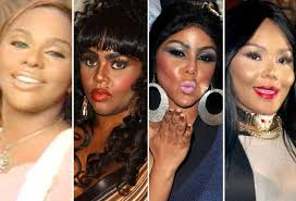 lil kim color transformation